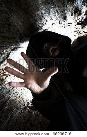 Scary Dark Figure