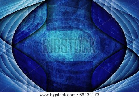 Unique Blue Abstract Modern Grunge Background