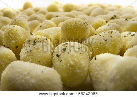 Chicche di patate (potato gnocchi)