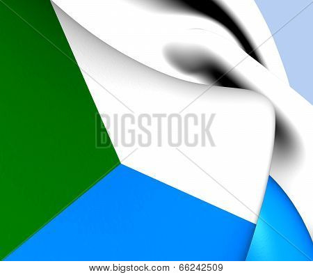 Flag Of Khabarovsk Krai