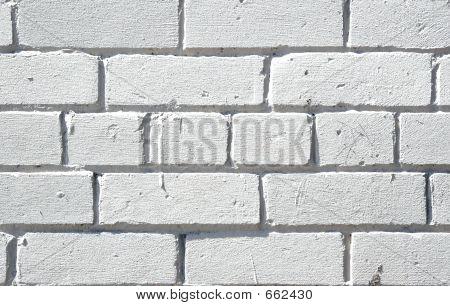 Weiße Ziegel-Hintergrund