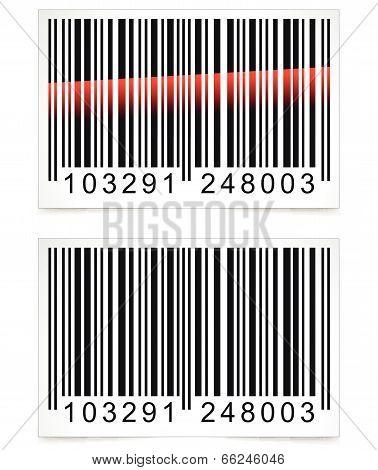 Vector Barcode Tag