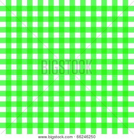 Vector Green Gingham