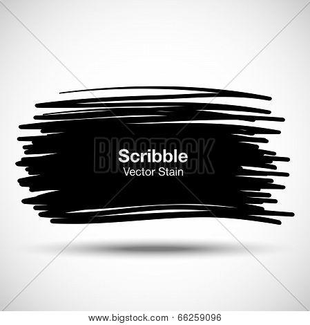 Hand Drawn Scribble Shape
