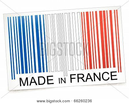 Made In France Barcode
