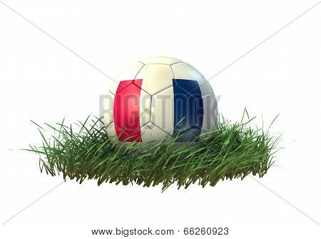 3D soccer ball France