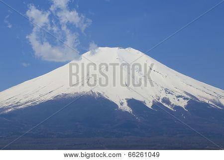 Peak Of Mount Fuji