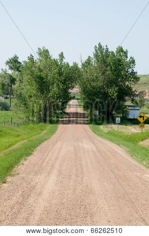 Dirt Road in South Dakota