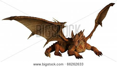 Large Red Dragon Prowling