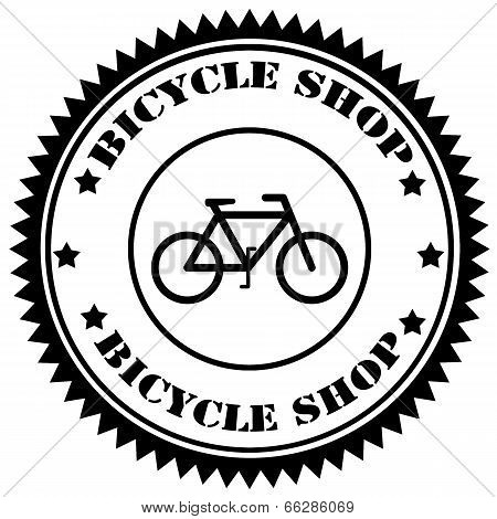 Bicycle Shop-stamp
