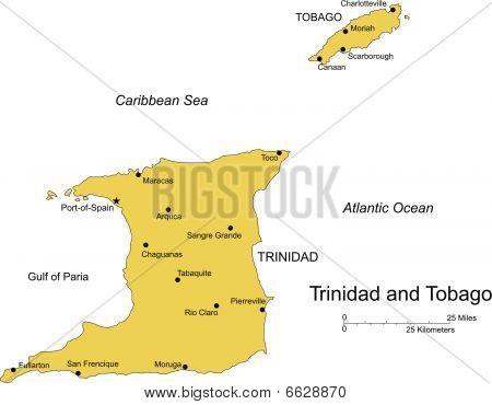Trinidad and Tobago, Island, Capital