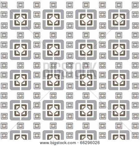 Vector Seamless Geometric Tiles Pattern Background