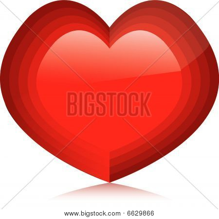 Valentine's Day Icon Set. Vector Illustration