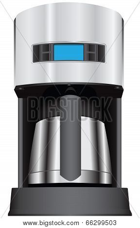 Coffee Maker With Display