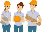pic of pre-adolescents  - Illustration of Teens Doing Volunteer Work - JPG