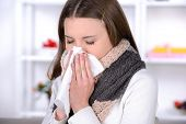 picture of caught  - Sick Woman - JPG
