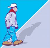 pic of pro-life  - pro gangster illustration vector image artwork simplistic - JPG
