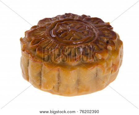 Mooncake, The Chinese Words On Mooncake Is 'ingredient', Not A Logo Or Trademark.