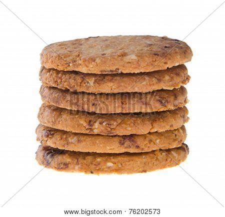 Cookies, Homemade Cookies On Background
