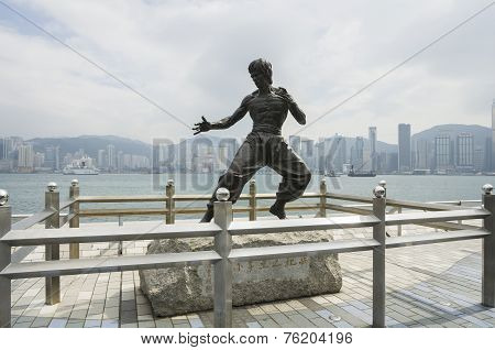 The Monument Of Bruce Lee