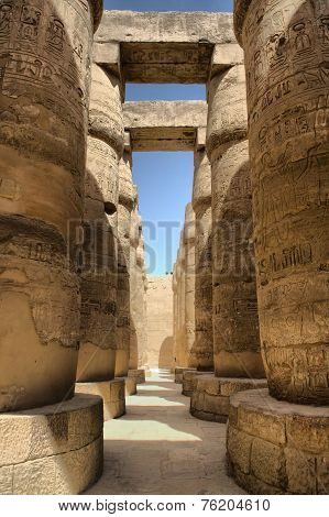 Ancient Egyptian Columns