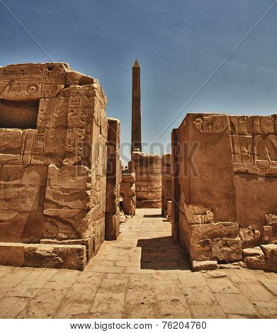 Obelisk Of Queen Hapshetsut