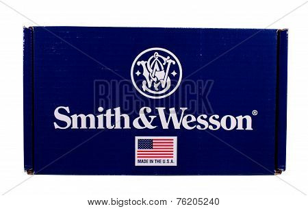 Smith And Wesson Pistol Box