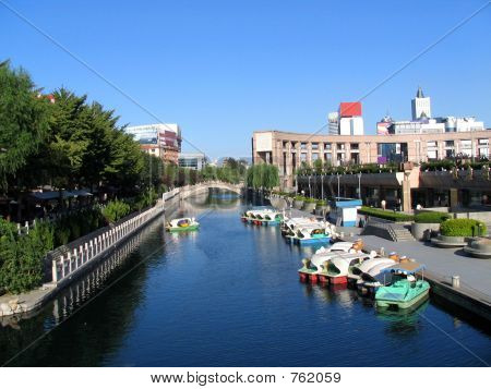 View of Jinan City