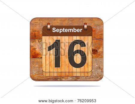 September 16.
