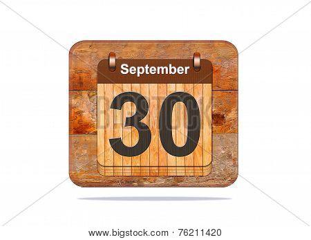 September 30.