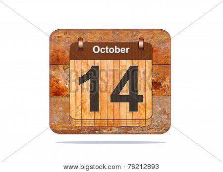 October 14.
