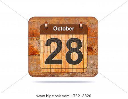 October 28.