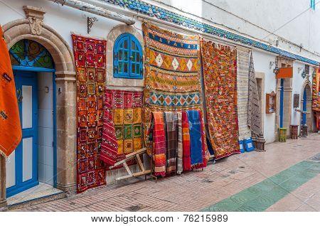 Oriental Carpets For Sale In Essaouira, Morocco