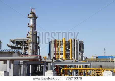 Chemical plant equipment