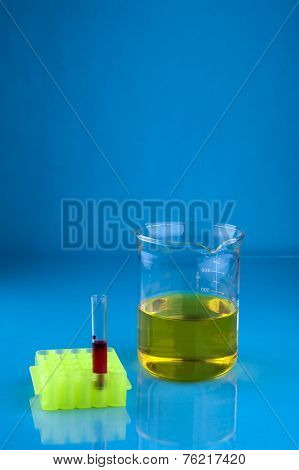 Test Tube And Beaker