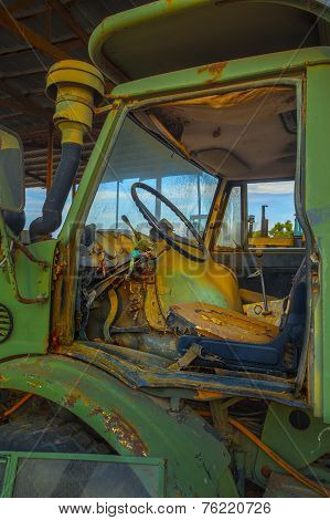 Abandoned Tractor Cab