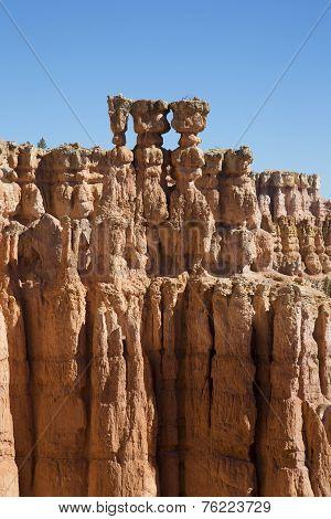 The Three Sisters Hoodoo in Bryce Canyon National Park, Utah