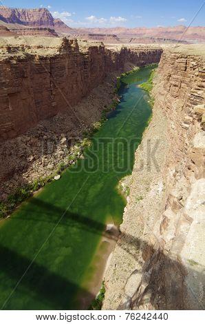 Colorado river in Colorado, United States