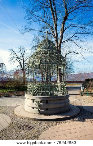 Water Well On Schlossberg Hill In Graz City