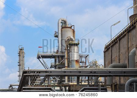 Oil Refinery Tower Industrial