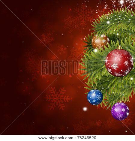 Red Holiday Xmas Decoration