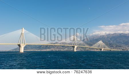 Suspension Bridge Across A Sea