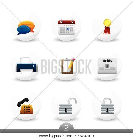 Web icons series no. 2