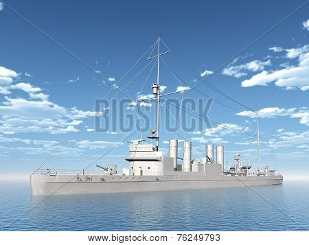 Wickes-Class Destroyer of the Allied