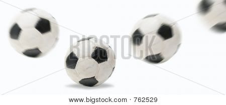 soccer ball bouncing