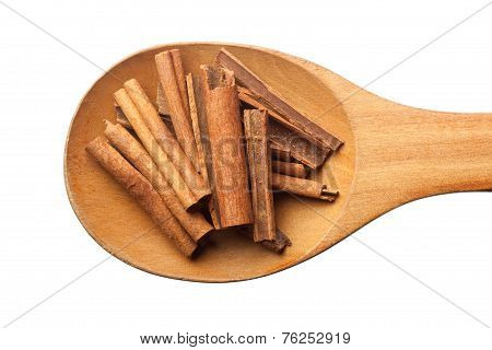 Spoon With Cinnamon