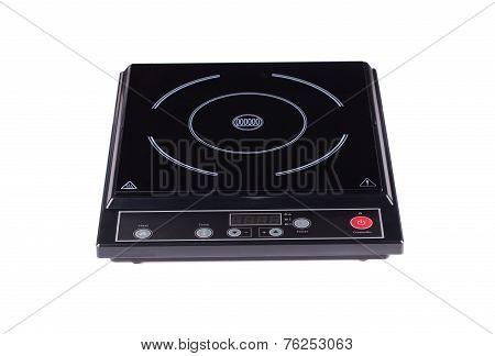Electric burner on stove