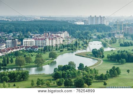 Cityscape - Birdeye view
