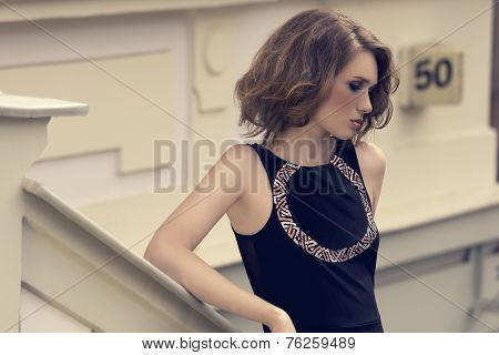 Fashion Shoot Of Young Girl