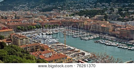City Of Nice - Architecture Of Port De Nice